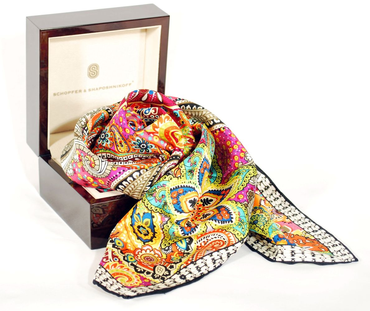 Подарки женщинам платки